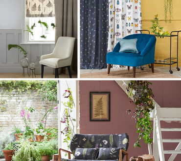 Clarke & Clarke Botanica Fabric Collection