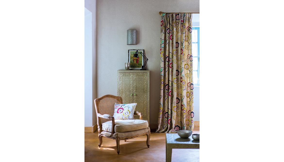 Jardin Boheme Twin Pleat Curtains