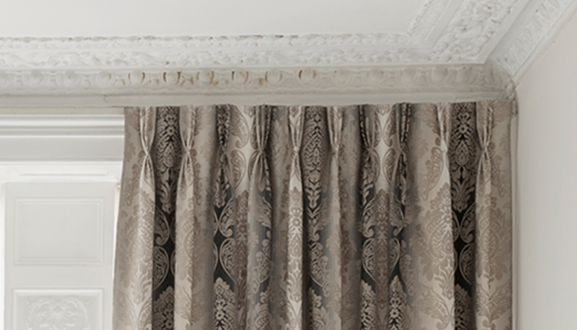 French Pleat - Clarke & Clarke Palladio Collection