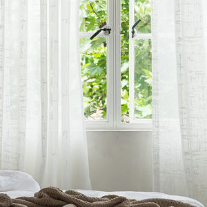 Let the Light in with an Elegant Sheer Curtain