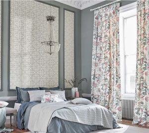 Make a Feature with Floral Fabric Window Coverings