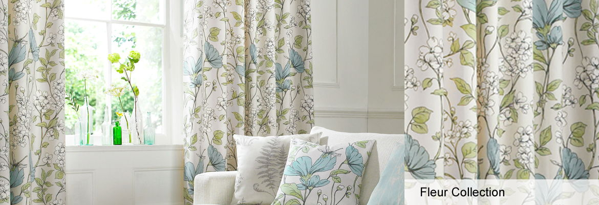 Curtains - Fleur Collection